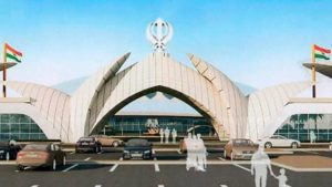 Passenger Terminal Building at Kartarpur Border, Punjab